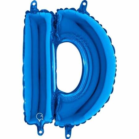 14230B Letter D Blue mini 1422 1