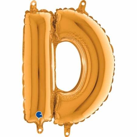 14232G Letter D Gold mini 1422 1