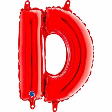 14238R Letter D Red mini 1422 1