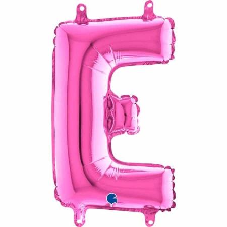 14241F Letter E Fuxia mini 1422 1