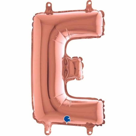 142423RG Letter E Rose Gold mini 1422 1