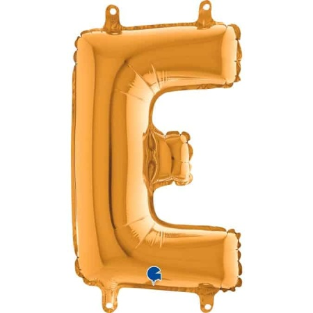 14242G Letter E Gold mini 1422 1