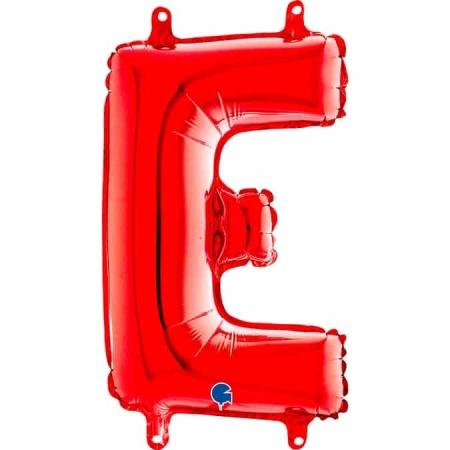 14248R Letter E Red mini 1422 1