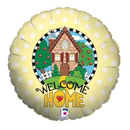 16825 R18 Welcome Home Yellow