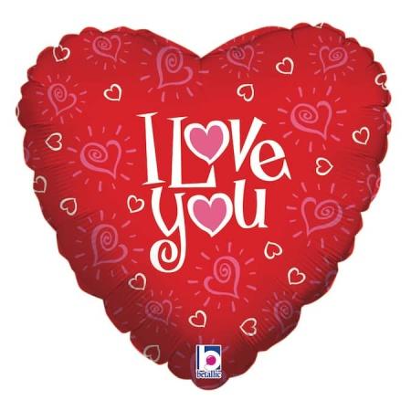 16967 R18 Love You Hearts con logo