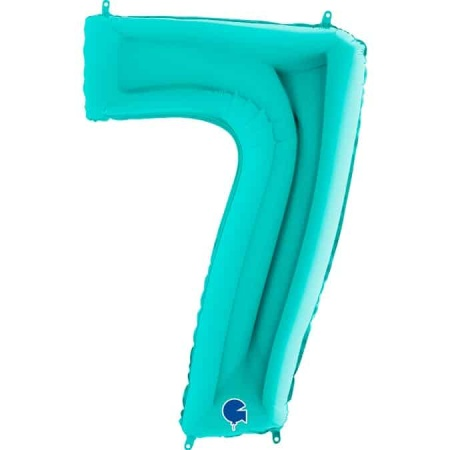Zahl 7 Tiffany