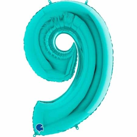 Zahl 9 Tiffany