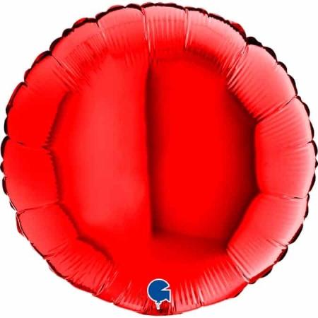 18108R Round 18inc Red 1
