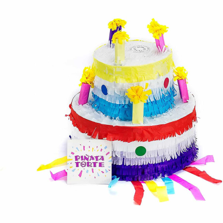Piñata Birthday Cake