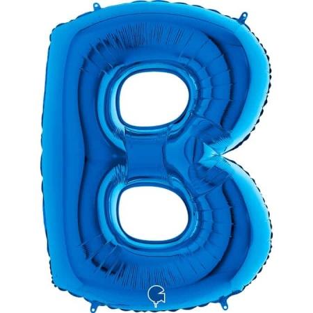 Buchstabe B Blau