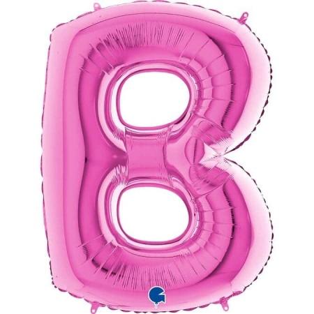 Buchstabe B Pink
