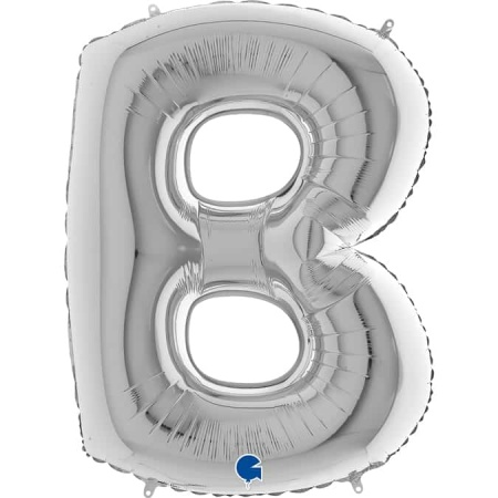 Buchstabe B Silber