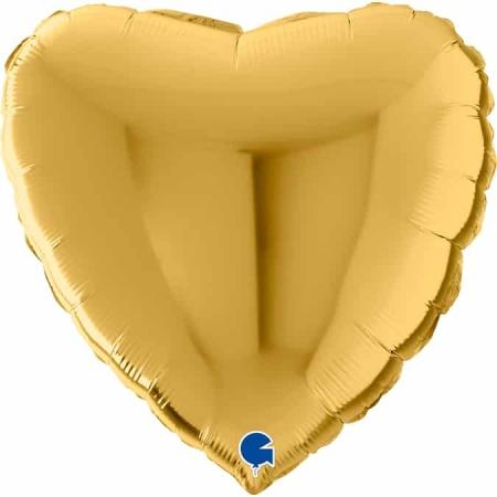 22012G5 Heart 22inc Gold 5 1