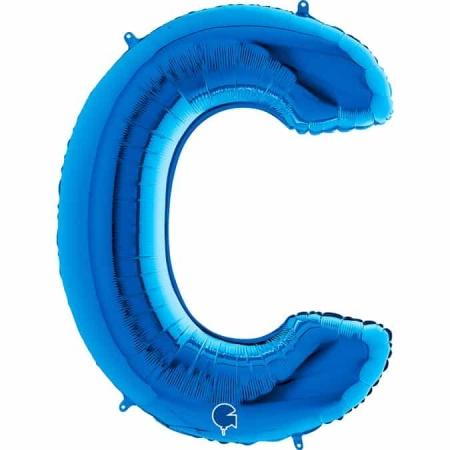 Buchstabe C Blau