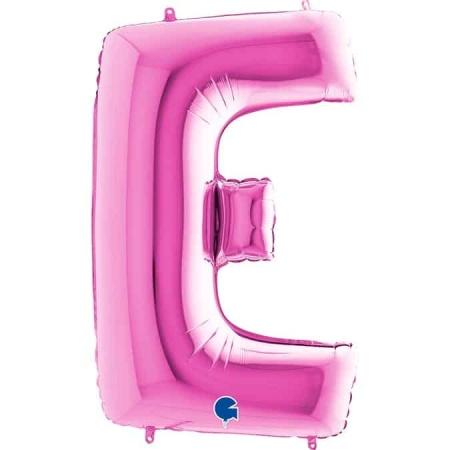 Buchstabe E Pink