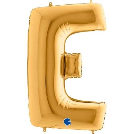 Buchstabe E Gold