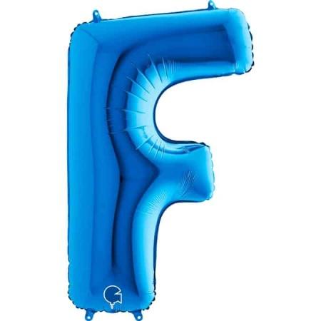 Buchstabe F Blau