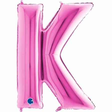 Buchstabe K Pink