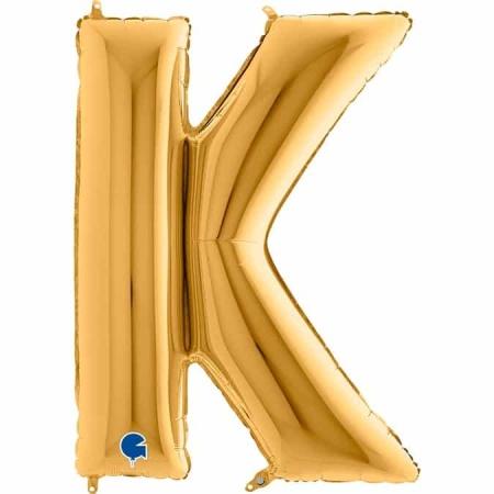 Buchstabe K Gold