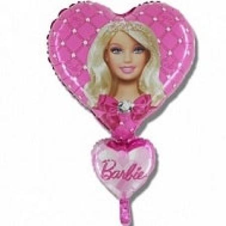 306443 Barbie Hearts Jumbo Balloon small
