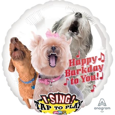 Singender Ballon Happy Bark Day to You