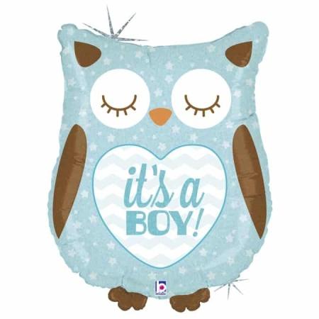 35158H Its A Boy Baby Owl