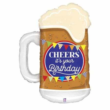35562TE Cheers Birthday Beer