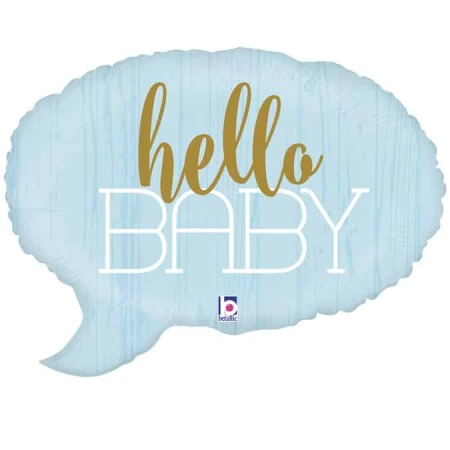 35691 Hello Baby Blue con logo