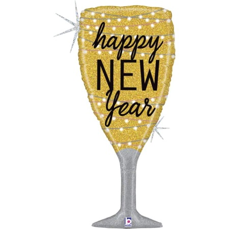 35739GH New Year Champagne Glass