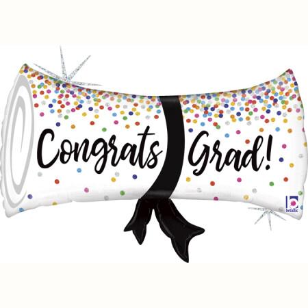 35773GH Grad Confetti Diploma