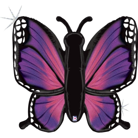 35777GH Big Butterfly Pink