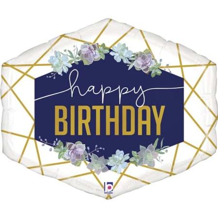 35851 Geo Navy Birthday