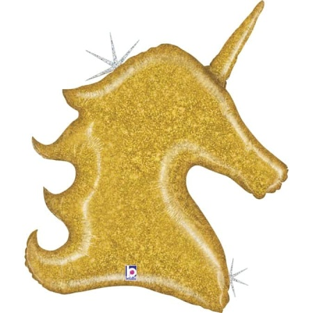 35861GH Gold Glitter Unicorn Kopie