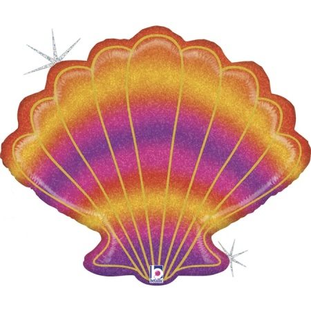35958GH Glitter Seashell