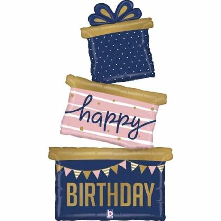 35963 Navy Birthday Gift Trio