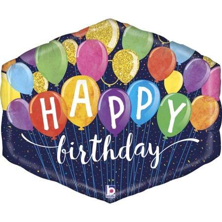 35967 Festive Birthday Balloons
