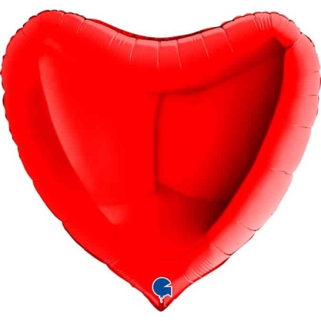 36008R Heart 36inc Red 1