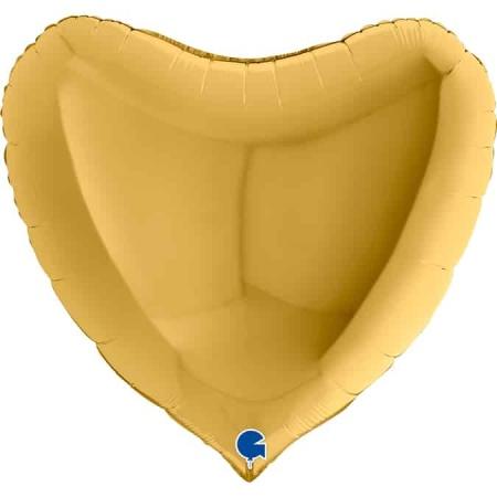 36012G5 Heart 36inc Gold 5 1