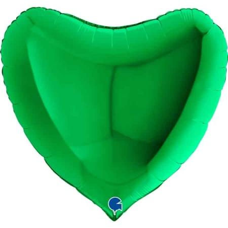 36020Gr Heart 36inc Green 1