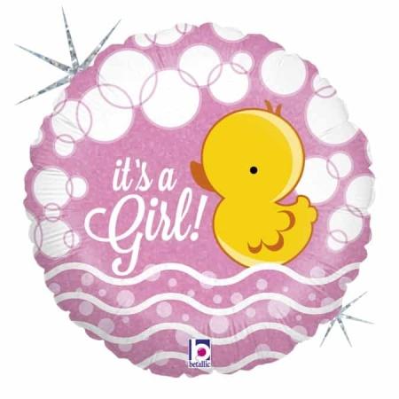 36042H Bubble Ducky Girl