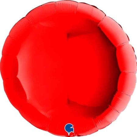 36108R Round 36inc Red 1