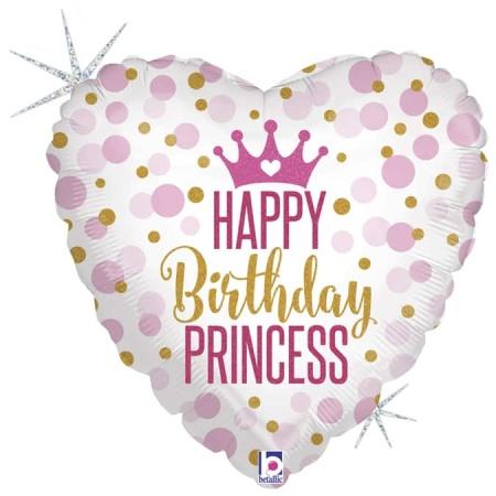36700GH H18 Glitter Birthday Princess