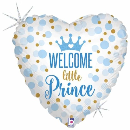 36712GH H18 Glitter Baby Prince con logo