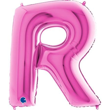 Buchstabe R Pink
