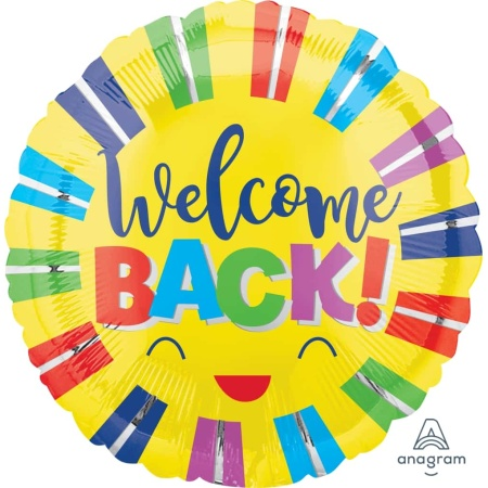 39943 welcome back colorful stripes