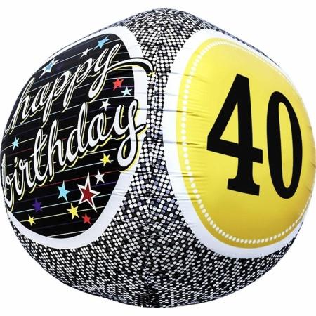 40th Birthday Milestone Sphere