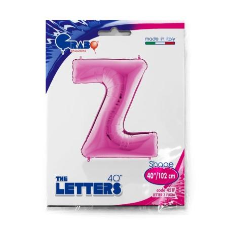 Buchstabe Z Pink