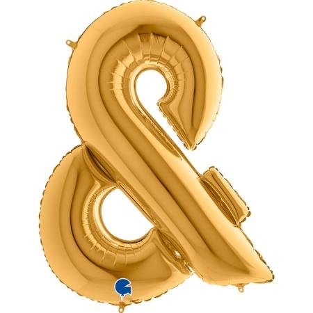 462G Symbol Ampersand Gold