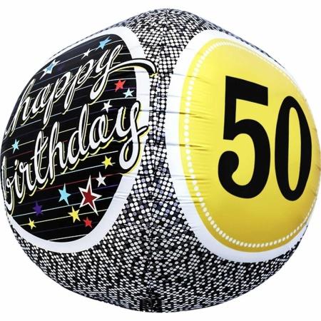 50th Birthday Milestone Sphere