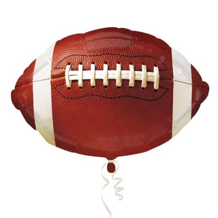 5pcs lot Championship Football Anagram Foil Balloons Party Supplies For Fans 18 inch Helium Inflate Balloon